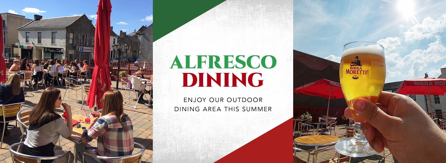 Alfresco Dining at Liberta