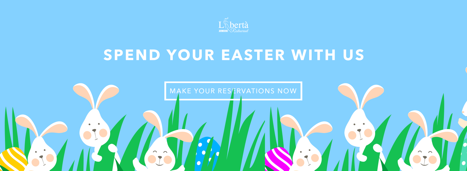 Spend Easter with Liberta